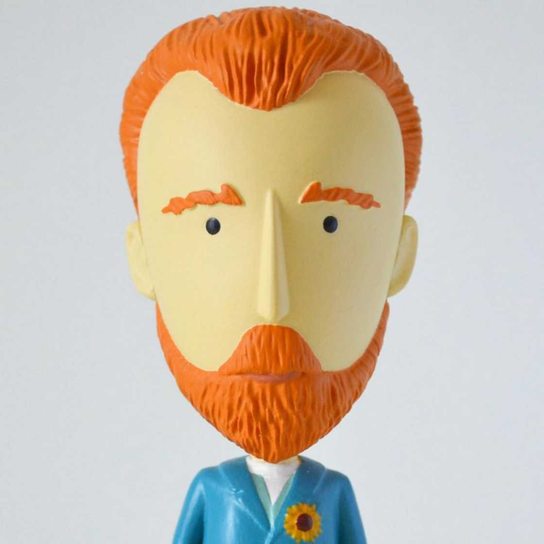 The Vincent Van Gogh action figure with his detachable ear