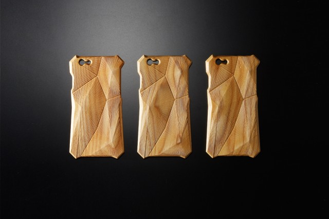 Wooden Engraved Acoustical iPhone Case