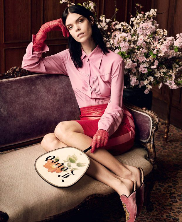 New Decadence: Meghan Collison Stars in T Magazine Singapore April 2017 Issue