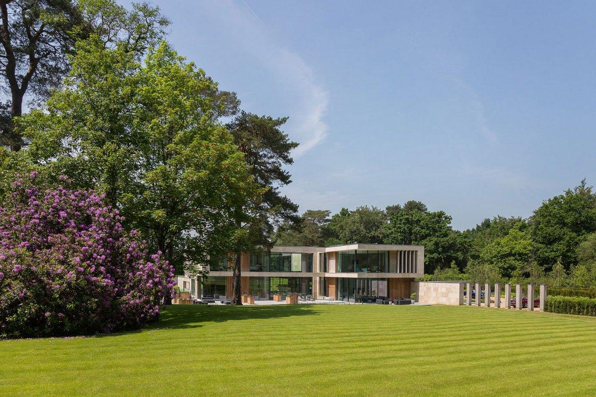 идеальный газон в частном доме