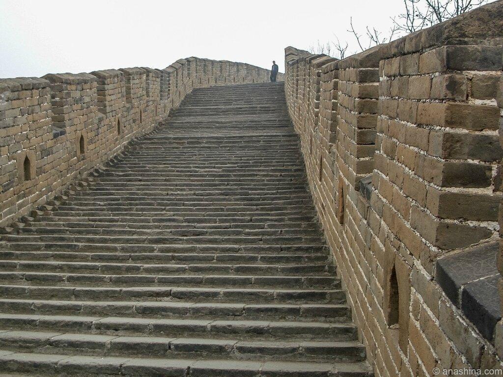 Ступени, Мутяньюй, Великая китайская стена