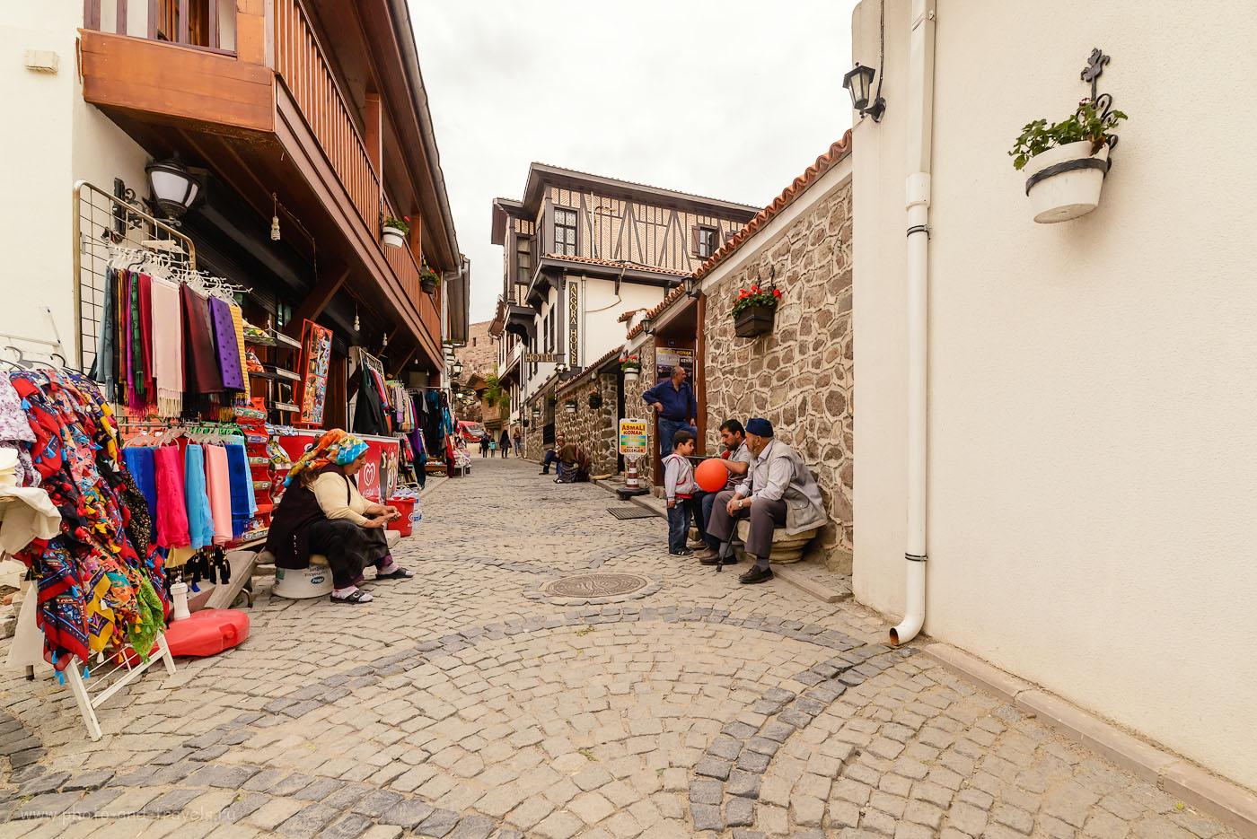 Фотография 23. Улочки на территории замка в Анкаре. Отчеты туристов о поездке в Турцию дикарями. 1/320, 8.0, 1600, 14.