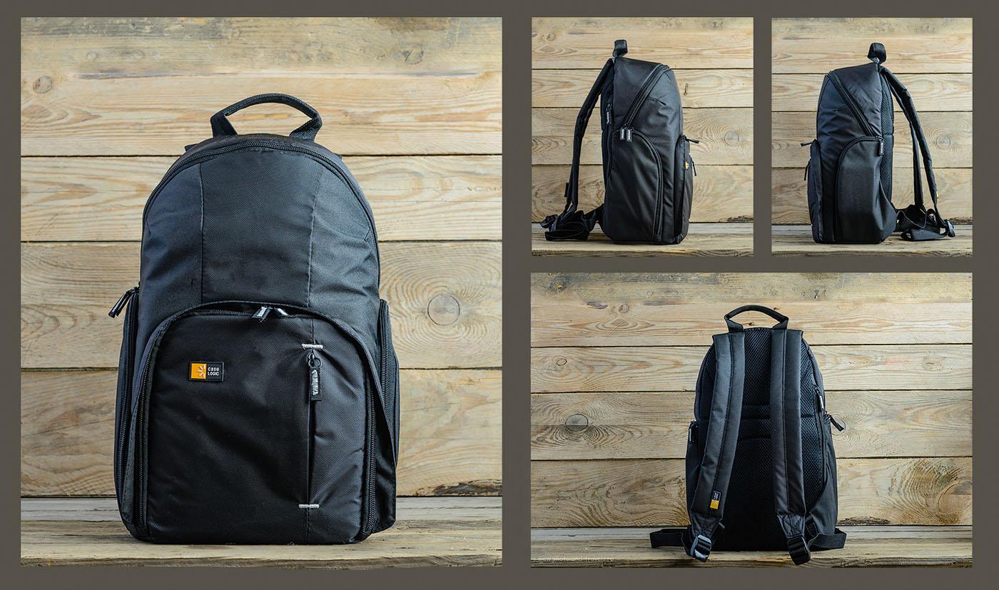 Фотография 2. Так выглядит фоторюкзак Case Logic TBC-411-Black. Использована следующая схема естественного освещения: справа – окно, слева – белый отражатель.