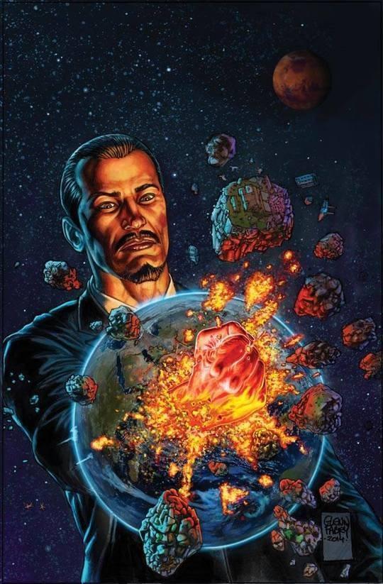 Comic Art by Glenn Fabry