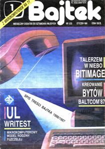 Журнал: Bajtek (на польском) - Страница 2 0_12c2cd_d750b21e_orig