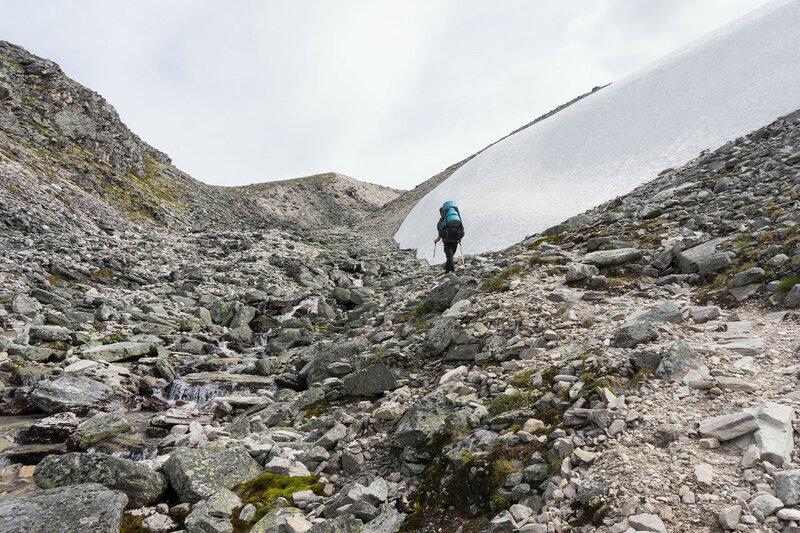 перевал Dørålsglupen в горах Rondane (Рондане)
