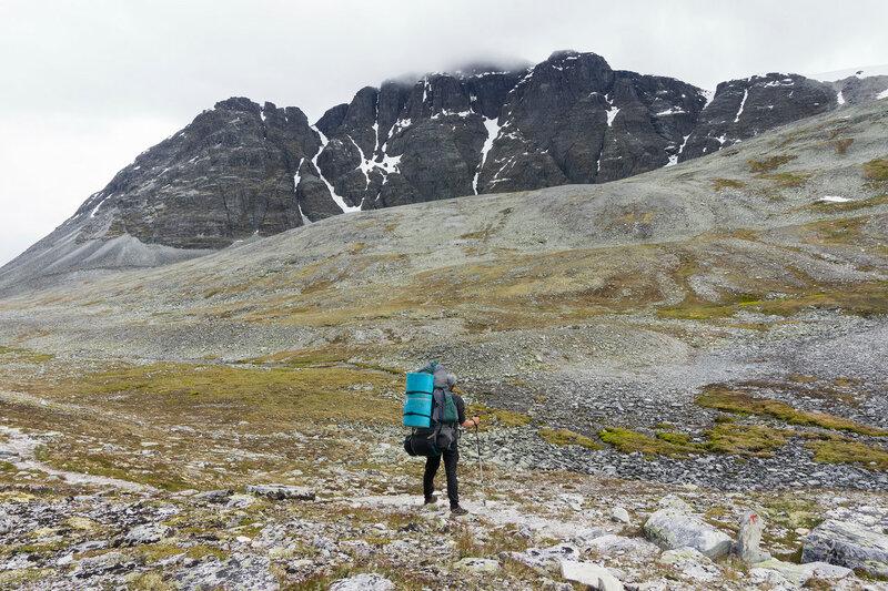 гора Рондслоттет (Rondslottet) в парке Рондане (Rondane), Норвегия
