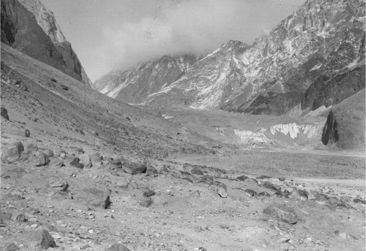 Ледник в северной части долины Музарт