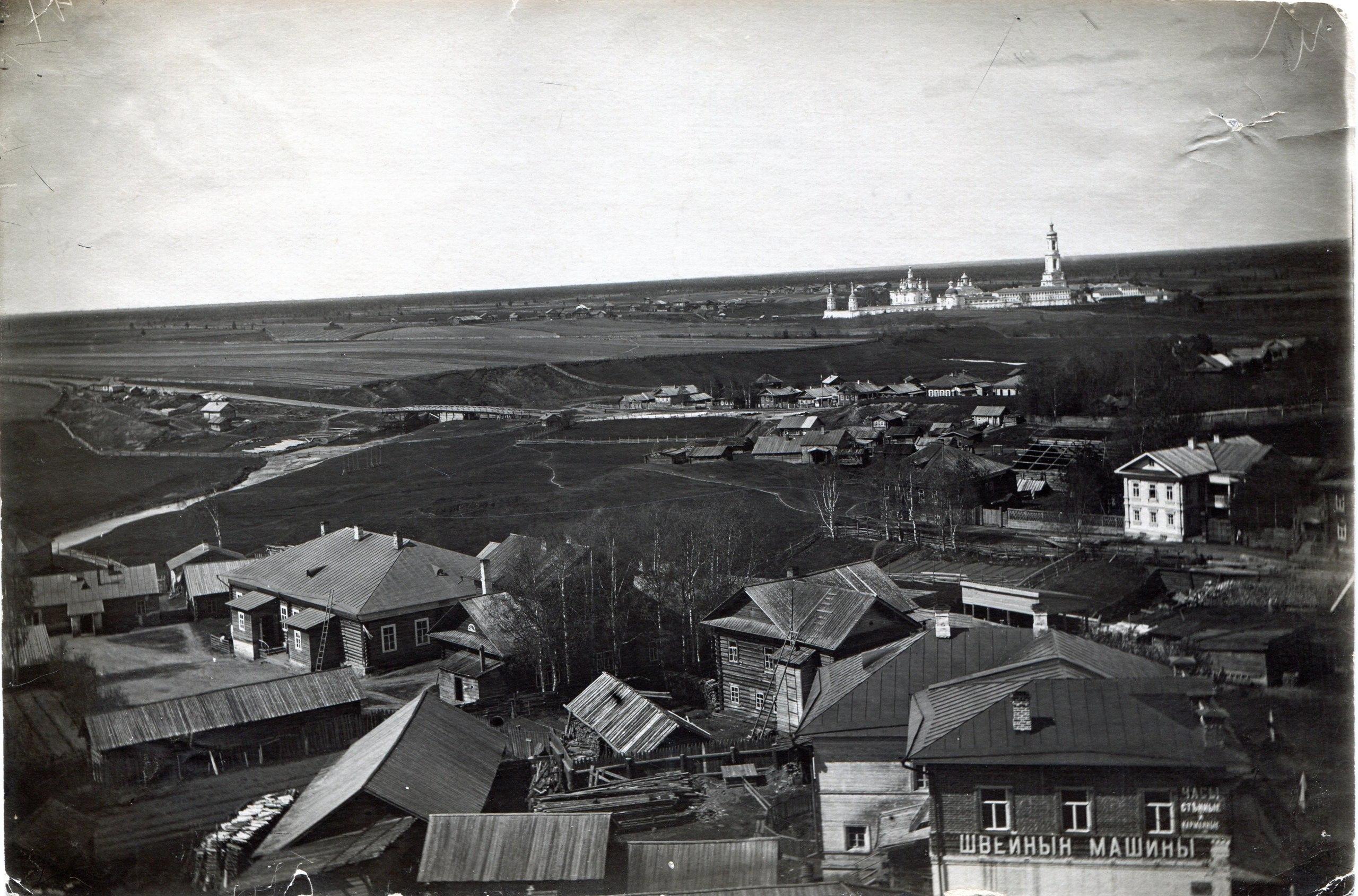 Панорама Тотьмы от Сретенской церкви