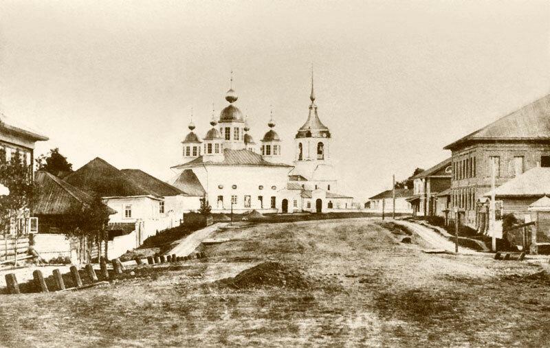 1850е Воскресенский собор в Череповце. 1721-1752а.jpg