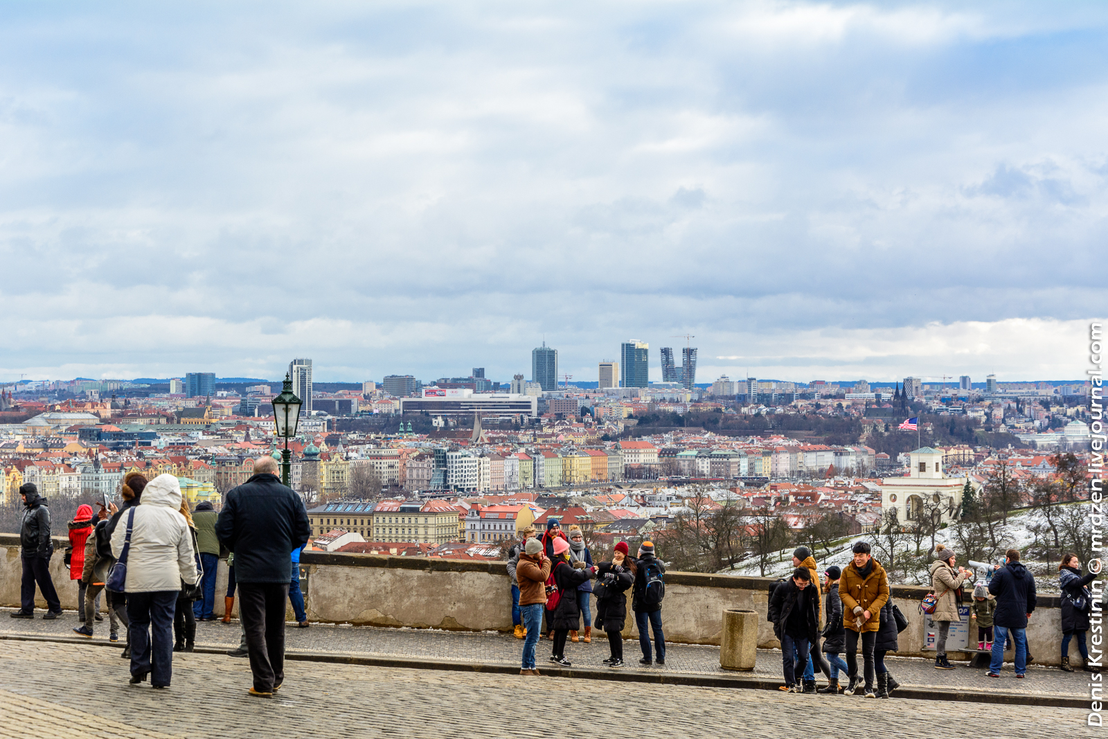 Панорамки с холма Пражского Града