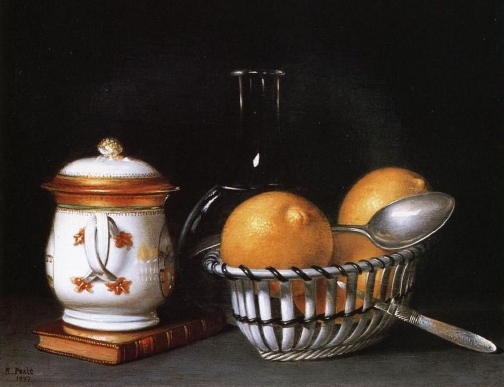 Рафаэль Пил. Лимоны и сахар. 1822