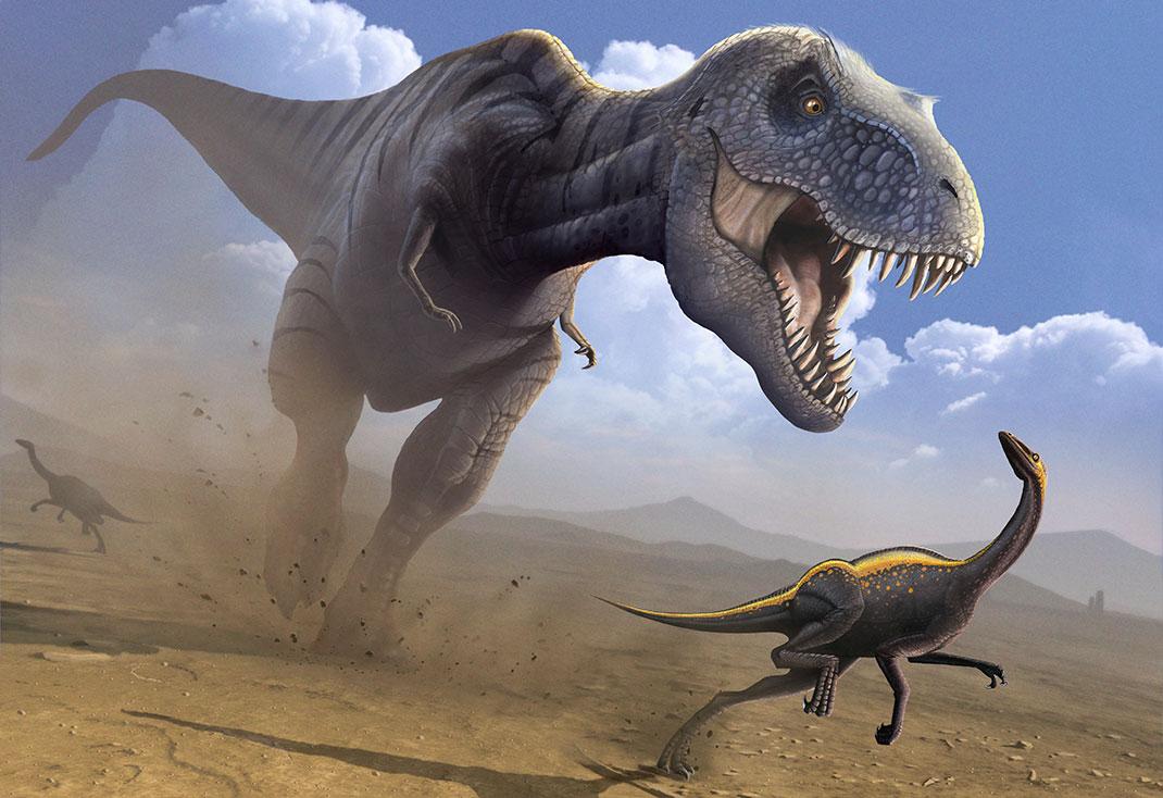 Почему динозавры приспособились к бипедализму?