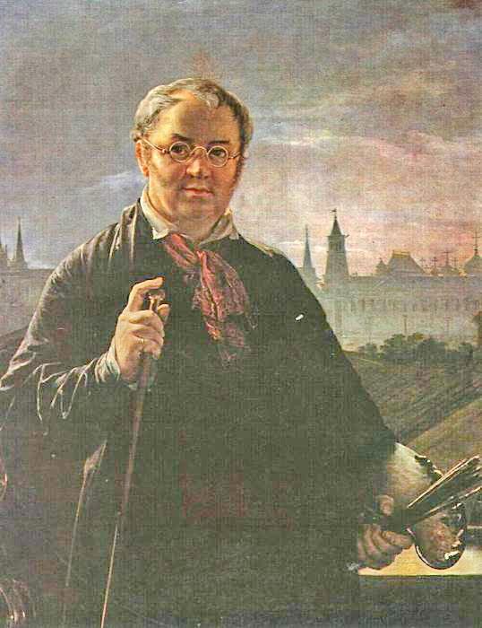 Автопортрет на фоне окна, с видом на Кремль.jpg