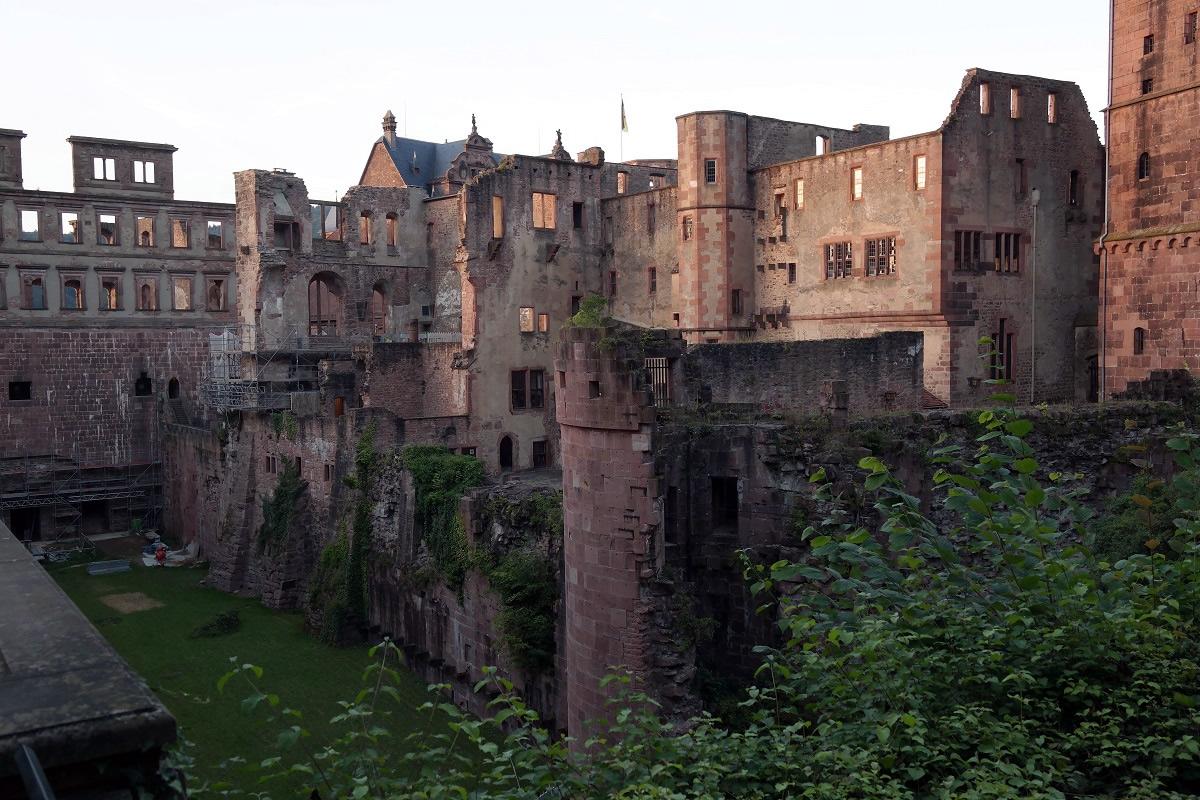 Хайдельбург, руины замка