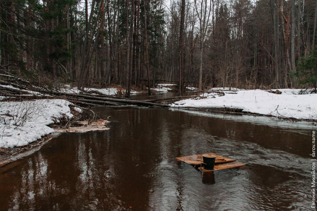 уровень воды в реке