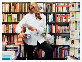 27 мая С днем библиотек! С праздником вас! Девушка-библиотекарь