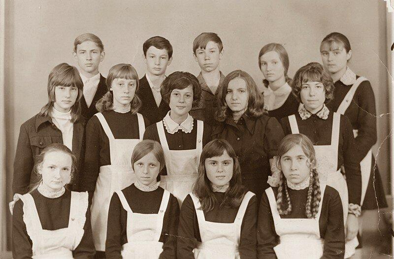 Славгород, школа №13, 1974 год.