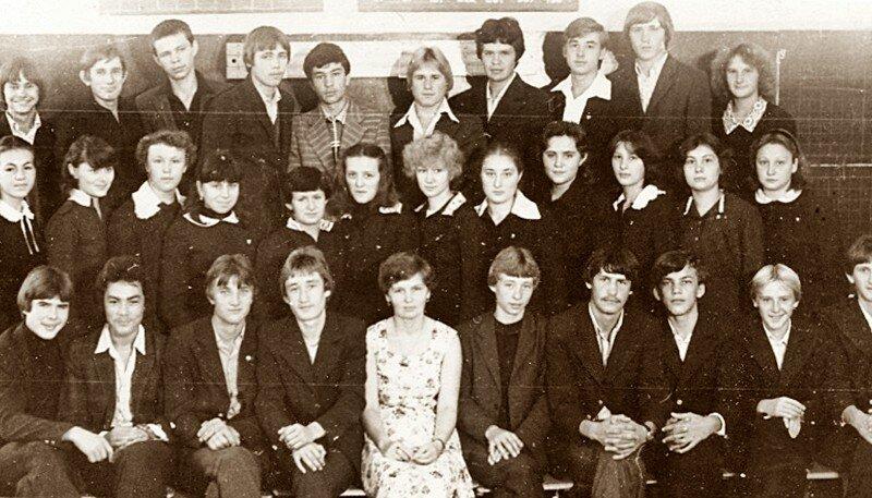 Славгород, школа №13, 1983 год.