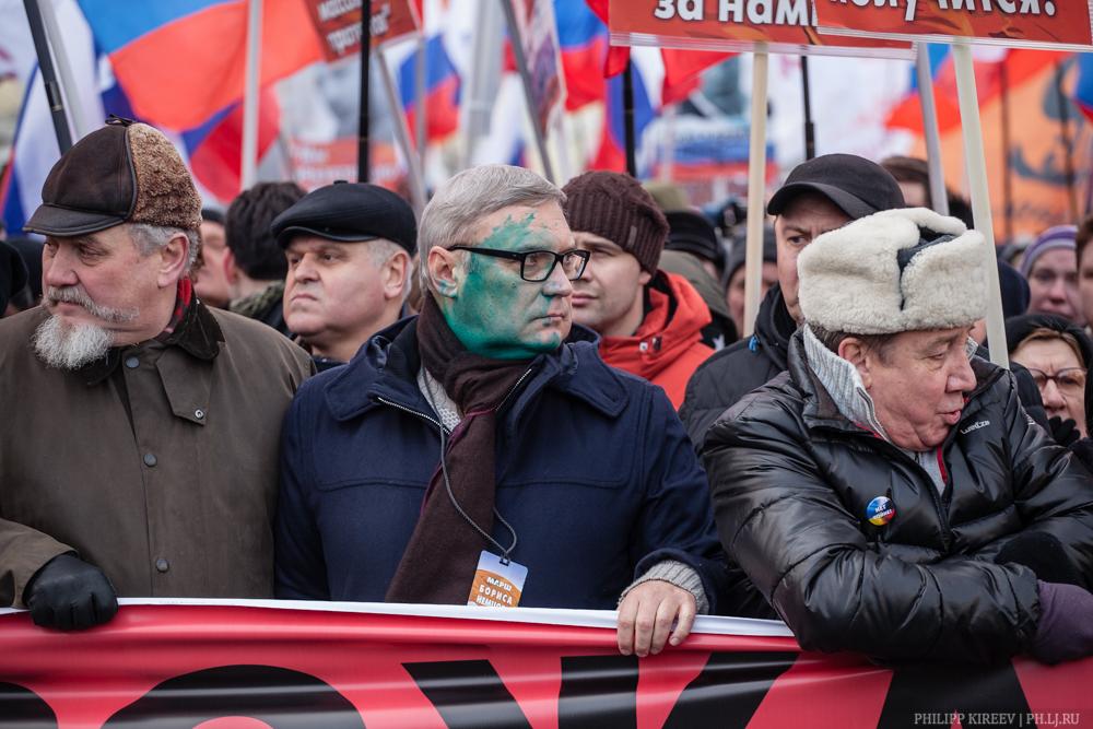 Обливший Михаила Касьянова зеленкой оказался активистом НОД