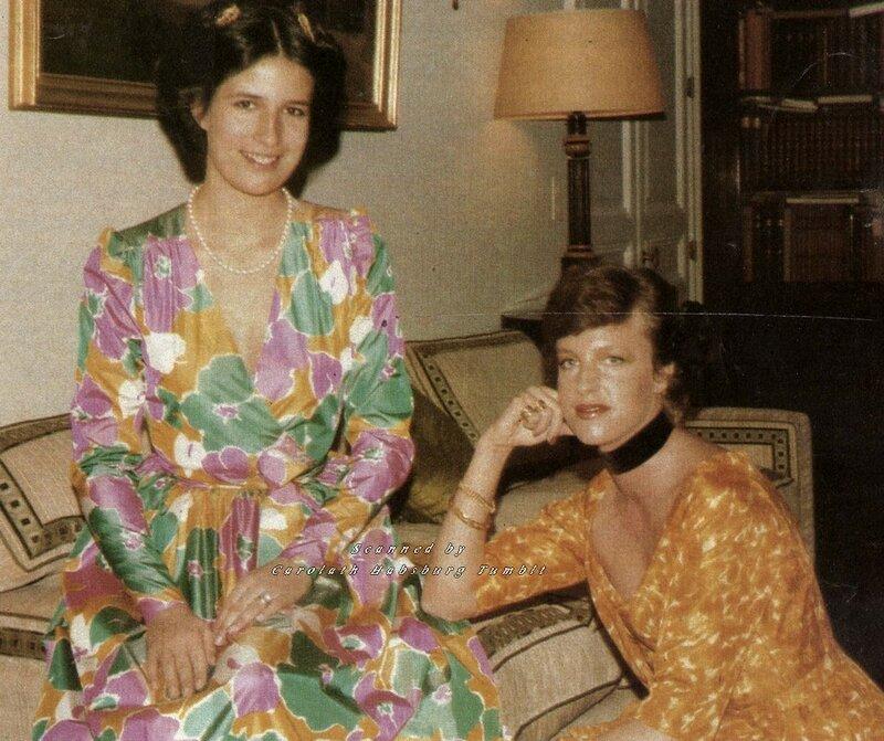 Принцессы Мария Кристина и Мария Эсмеральда Бельгийские. 1970-е
