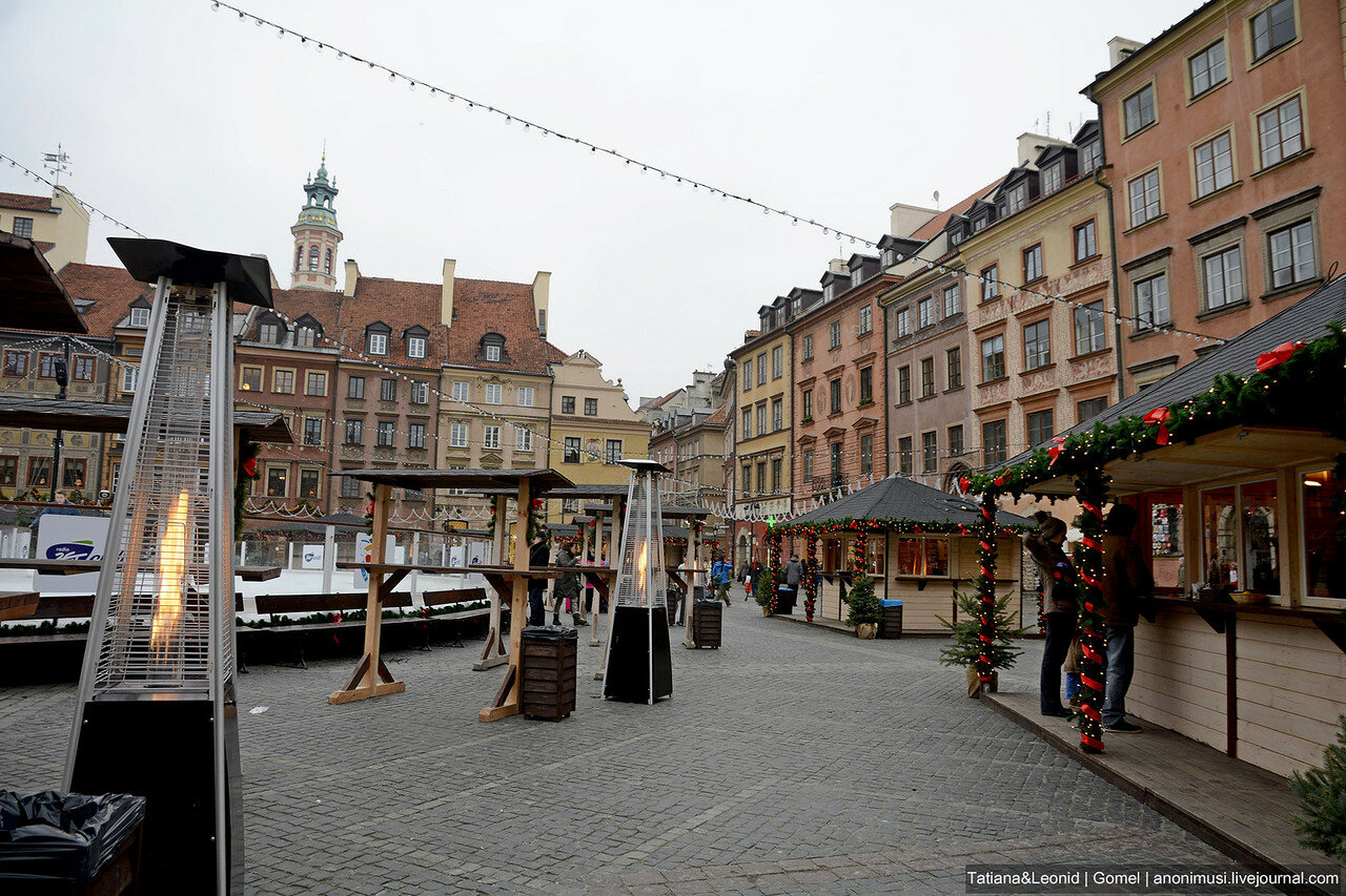 Варшава зимой