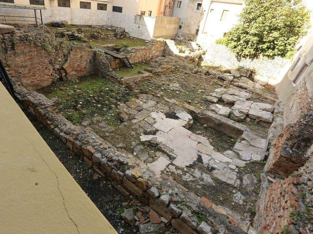 Таормина. Римские термы