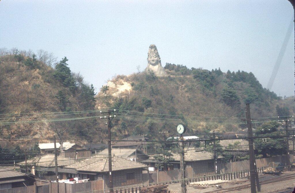 Ofuna Kannon Statue in Kamakura, Kanagawa Pref.