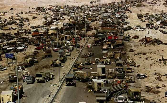 9. Ирак Самой опасной в Ираке считается трасса Кувейт-Басра, прозванная «Дорогой Смерти». 32 смерти