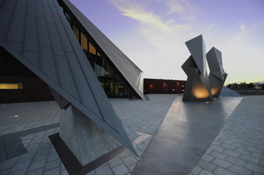 Австралия. Олбани, Западная Австралия. Культурно-развлекательный центр Олбани, спроектированный