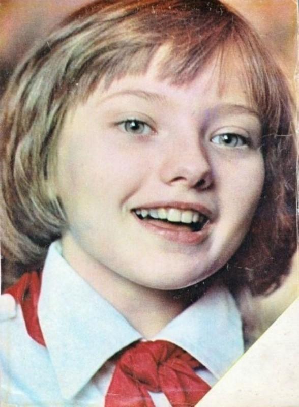 Юный посол доброй воли от Советского Союза Катя Лычева посетила в 1986 году Соединенные штаты Америк