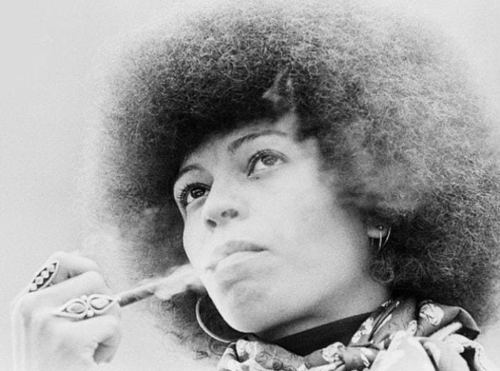 Защитница прав чернокожих Анджела Дэвис