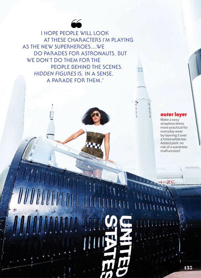 Жанель Монэ в Cosmopolitan Magazine