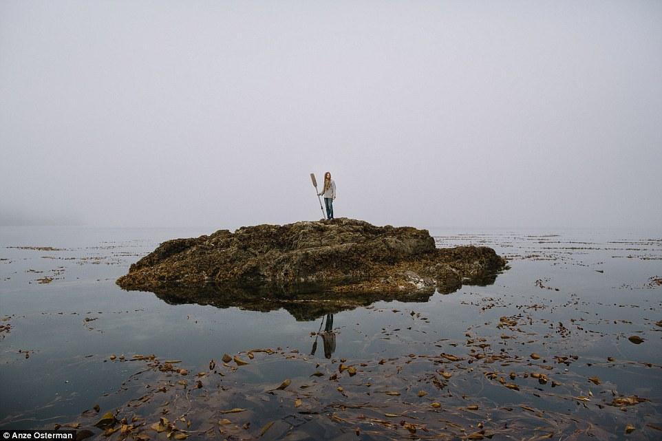 Любителям уединенного образа жизни посвящается: как жить на Аляске в глуши и тишине и не сойти с ума. (15 фото)