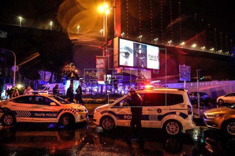 ВТурции арестовали террориста, устроившего стрельбу вклубе Стамбула