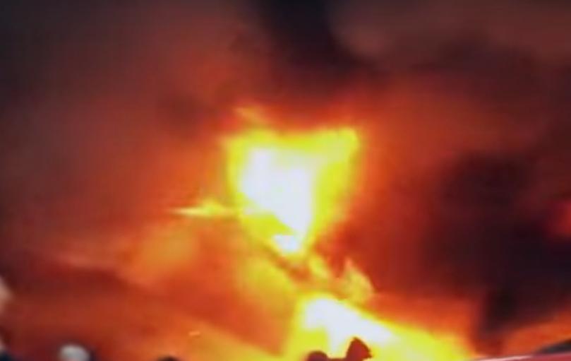 ВОдессе горел известный рынок «Привоз»