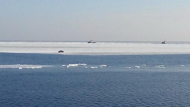 Наюге Сахалина 20 рыбаков забрало вОхотское море нальдине