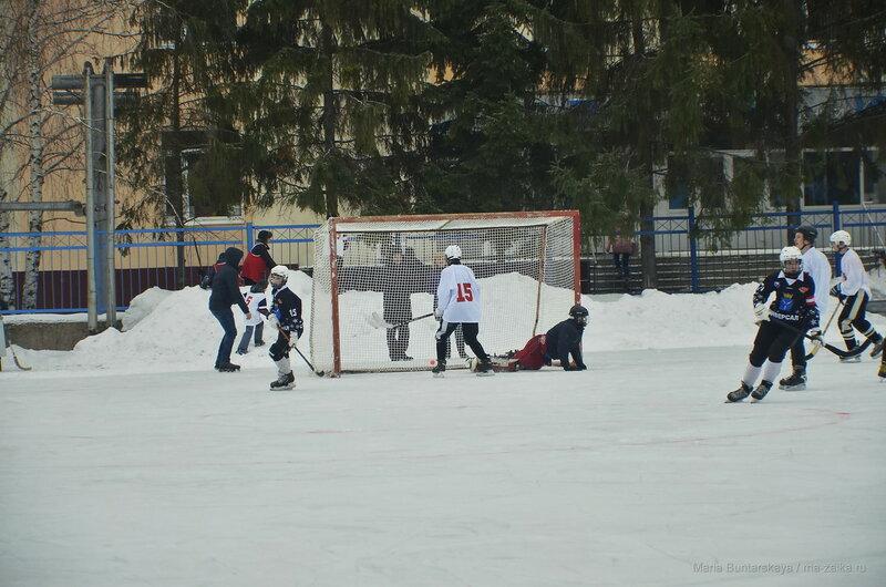 Открытие катка, Саратов, СГТУ, 25 января 2017 года