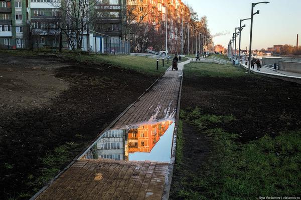 Откуда в наших городах берётся грязь? Часть 2
