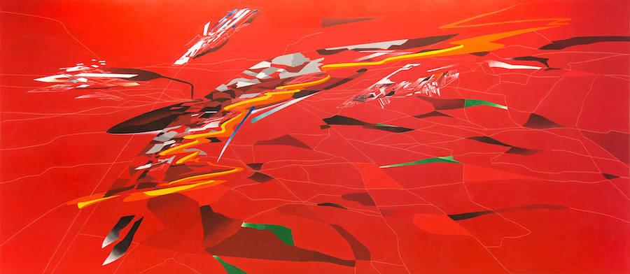 Zaha Hadid's 380° drawings exploration