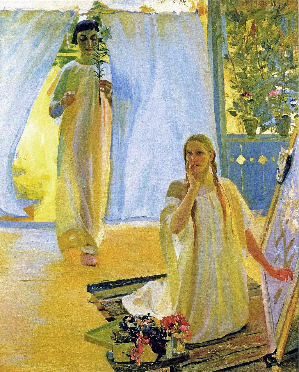 """""""Благовещение"""". А.Мурашко, 1909 год"""