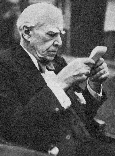 К. С. Станиславский. Одна из последних фотографий