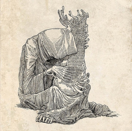 Creepy Drawings by Kirill Semenov