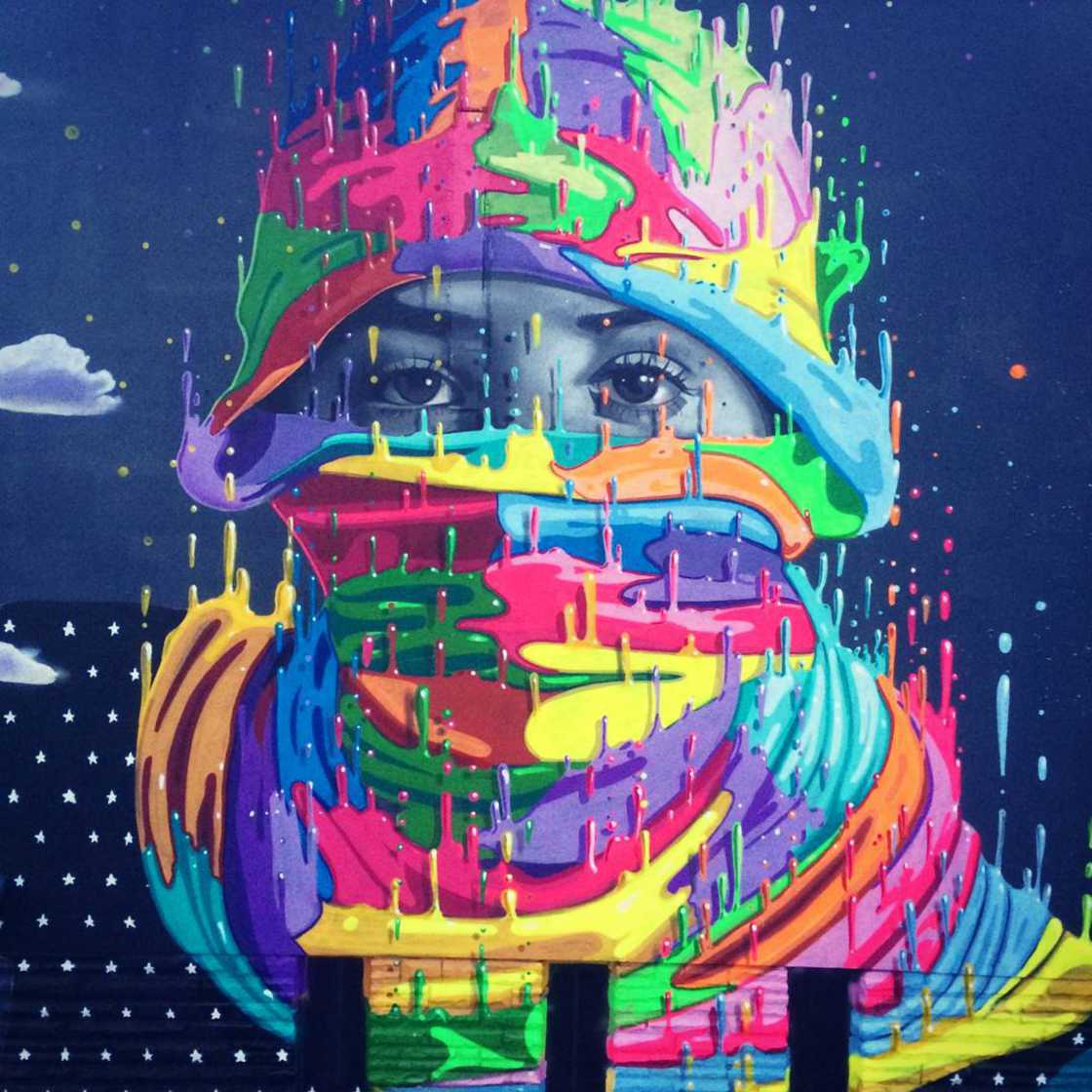 Dripping Colors - The impressive street art of Dasic Fernandez