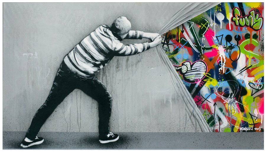 Stencil & Graffiti Murals by Martin Whatson (9 pics)