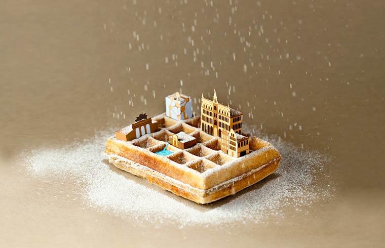 Brunch City – Les metropoles miniatures et leurs specialites culinaires (16 pics)