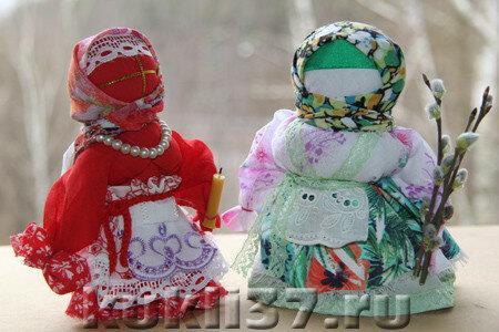 куклы обереги Пасха и Вербница