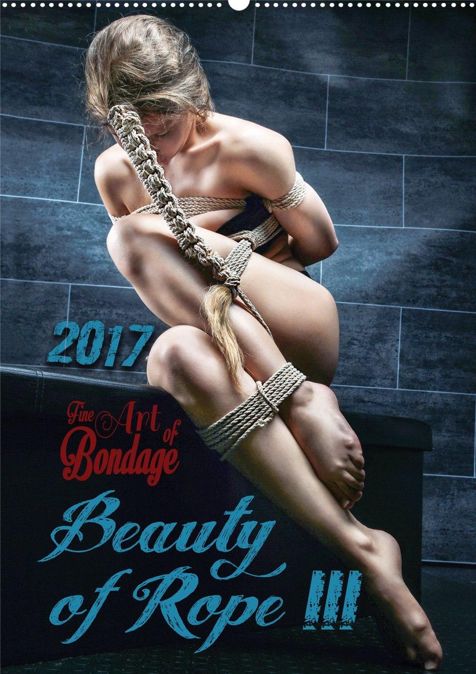 Как связать девушку - календарь Beauty of Rope III - Calendar 2017 / Fine Art of Bondage