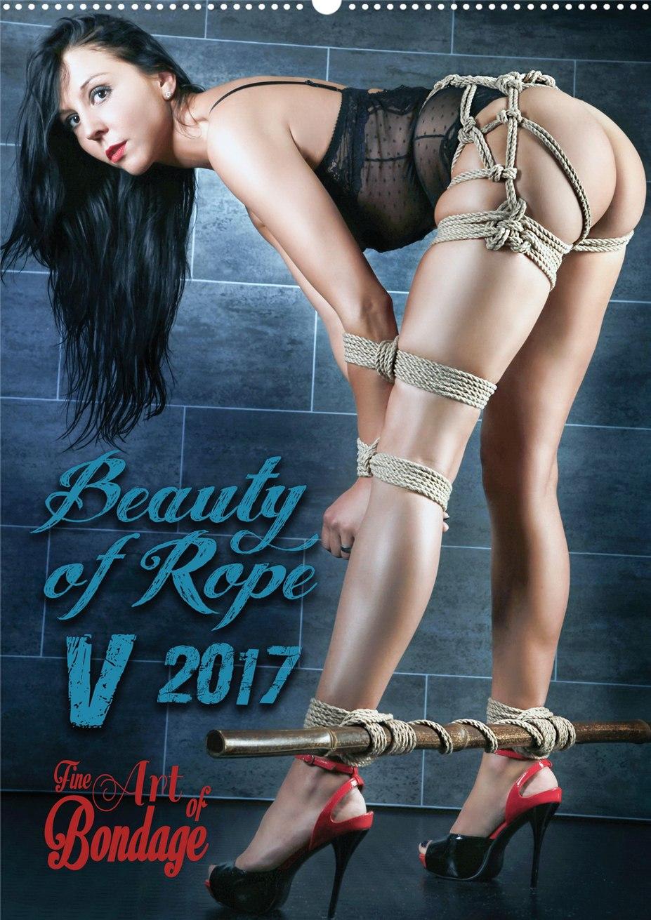 Как красиво связать девушку - календарь Beauty of Rope V - Calendar 2017 / Fine Art of Bondage