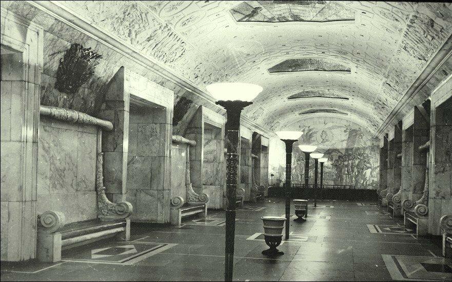 15415 Станция метро «Новокузнецкая» 1950 г.